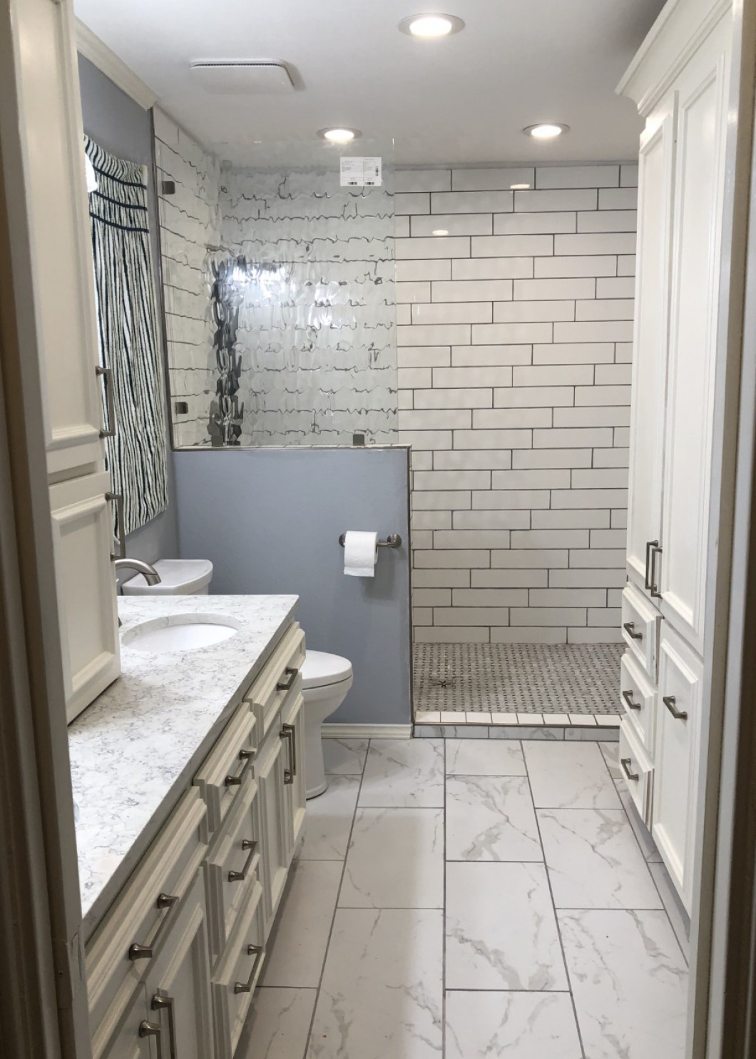 We can handle bathroom remodels of any size
