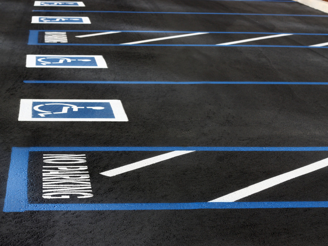 Are Faded Parking Lot Lines Confusing Your Customers?